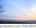 방사상으로 연장 저녁 구름 (와카 쿠사 산 정상) 25823634
