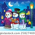 snowman, snowmen, carol 25827469