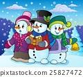 snowman, snowmen, carol 25827472