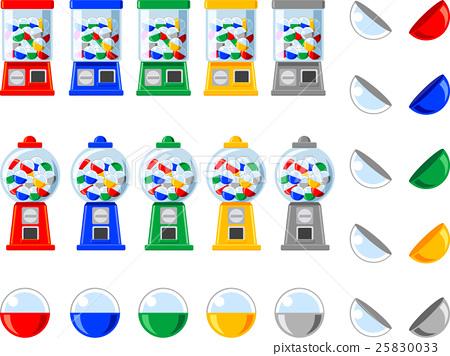 벡터, 장난감, 기계 25830033