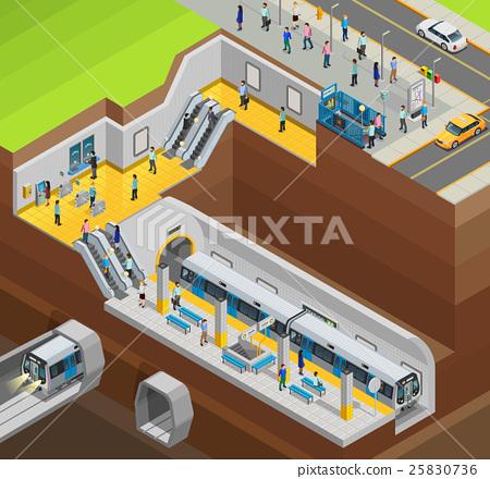 Underground Design Composition  25830736