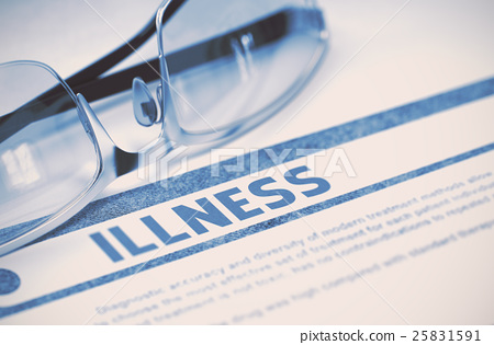 Diagnosis - Illness. Medicine Concept. 3D 25831591