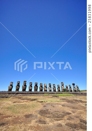 Ah-Tongariki Easter Island Moai 25831998