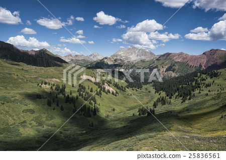 Landscape in the Rocky Mountains 25836561