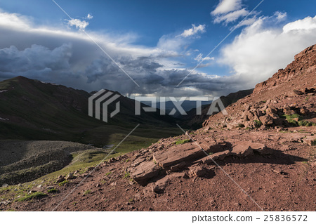 Stock Photo: Landscape in the Rocky Mountains