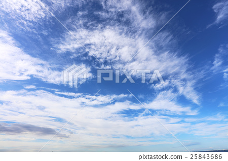 Blue sky and clouds 25843686