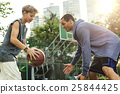 Basketball Athlete Sport Skill Playing Exercise Concept 25844425