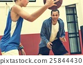 Basketball Athlete Sport Skill Playing Exercise Concept 25844430