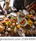 Thanksgiving Celebration Tradition Family Dinner Concept 25844994