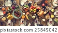 Thanksgiving Celebration Traditional Dinner Setting Food Concept 25845042
