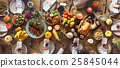 Thanksgiving Celebration Traditional Dinner Setting Food Concept 25845044