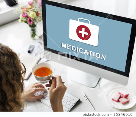 Medication Healthcare First Aid Concept 25846010
