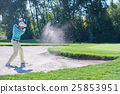 Playing from sand trap 25853951