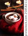 hot chocolate. 25858211