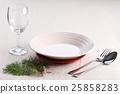 christmas table setting . 25858283