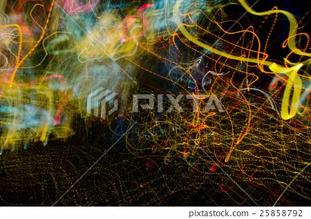 七種顏色幻覺抽像草稿,精采背景 25858792