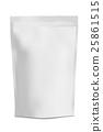 White Blank Foil 25861515