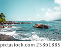 Rocky Beach at Beautiful Island Ilhabela 25861885