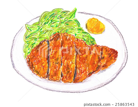 Pork cutlet 25863543