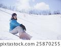 單板滑雪女性 25870255
