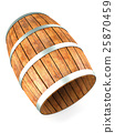 Wooden barrel 25870459