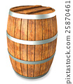 Wooden barrel 25870461