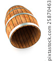 Wooden barrel 25870463