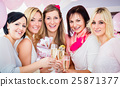 Best Friends Women celebrating baby shower  25871377