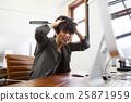 設計師商務辦公設計PC麻煩煩惱麻煩麻煩 25871959