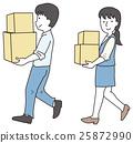 baggage, burden, luggage 25872990