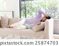 女性 發燒 感冒 25874703
