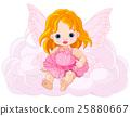 Cute Baby Fairy 25880667