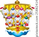 Baisho Shichifuku Rooster 25882414