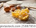Dough cooking process. 25887850