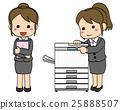 เหมาะกับพนักงาน บริษัท หญิง·เครื่องถ่ายเอกสาร 1 25888507