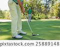 高爾夫 高爾夫球手 球 25889148