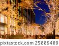 Winter Illumination in Tokyo near Marunouchi 25889489