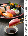 壽司 握壽司 生魚片 25889503