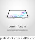 vector, desktop, computer 25892517