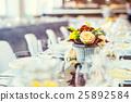 Flowers arrangement bouquets for wedding. 25892584