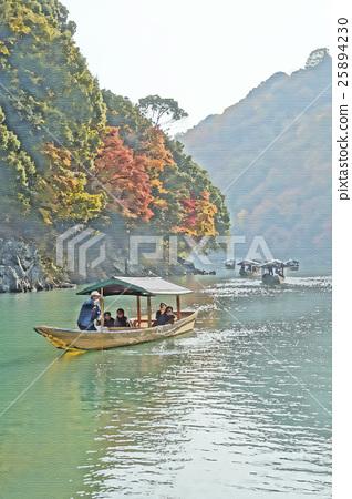Kyoto Arashiyama Autumn leaves 25894230