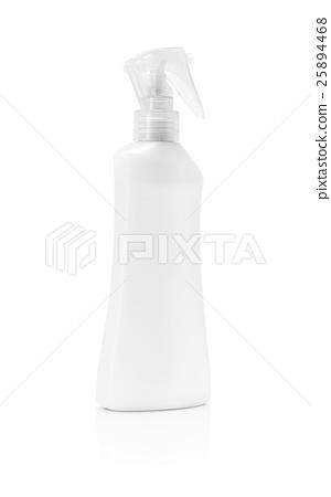 blank packaging spray bottle isolated on white 25894468