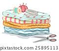 布料 女装裁缝 织物 25895113