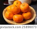 水果 橙色 橘子 25896073