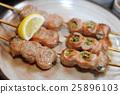 食物 食品 日式烤鸡串 25896103