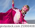 Little Girl Super Hero Concept 25900408