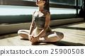 Ballerina Practice Ballet School Concept 25900508