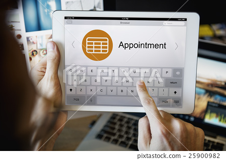Schedule Task Agenda Appointment Planning Strategy Concept 25900982