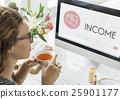 Capitalism Cash Credit Revenue Banking Stock Concept 25901177