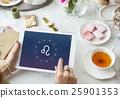 Leo Horoscope Zodiac Fortune Graphic Concept 25901353